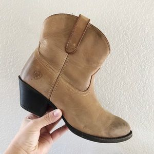 ARIAT || Darla Western Ankle Boot